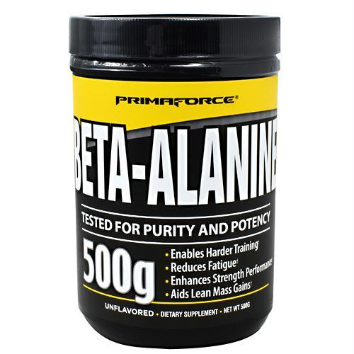 Primaforce 3750119 500 g Beta-Alanine Unflavored - 250 Servings