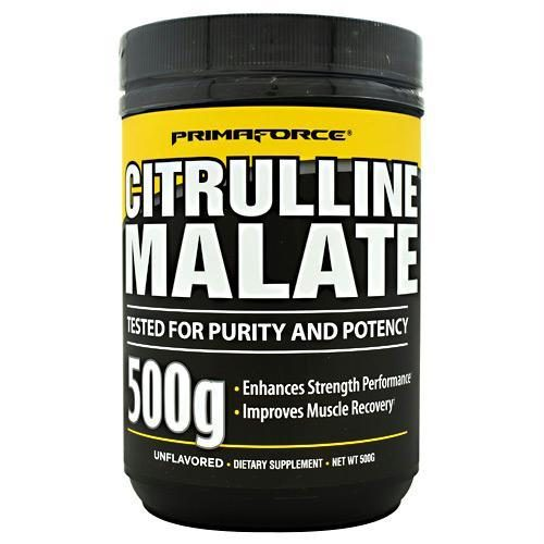 Primaforce 3750120 500 g Citrulline Malate Unflavored - 250 Servings