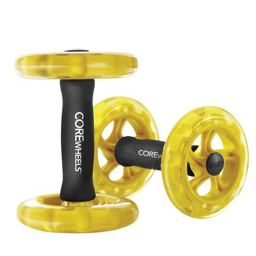 SKLZ 1375527 Core Wheels Dynamic Strength & AB Trainer