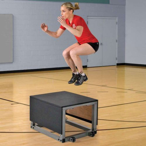 SSN 1395576 30 in. Power-Plyo Box Black