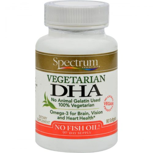 Spectrum Essentials HG0514745 Vegetarian DHA - 90 Softgels