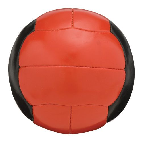 Sport Supply Group 1266238 Medicine Ball 4-6lb - Fitness Medicine Balls - Red