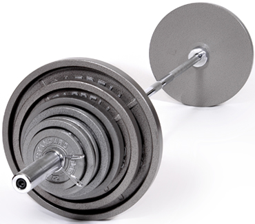 Troy Barbell OSS-046 Olympic Plate Weight Set - Gray