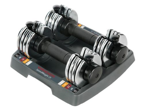 Weider WSAW2505 Power Switch Weights Set Chrome