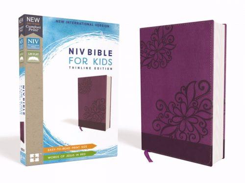 ZonderKidz 200425 NIV Bible for Kids Comfort Print - Purple Leathersoft