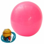 65cm Explosion-proof Exercise Fitness Yoga Ball Pink