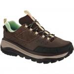 Hoka One One Tor Summit WP: Hoka One One Women's Hiking Shoes Brown/Patina Green