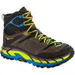 Hoka One One Tor Ultra HI WP: Hoka One One Men's Hiking Shoes Grey/Cyan