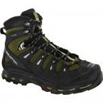 Salomon Quest 4D 2 QTX: Salomon Men's Hiking Shoes Iguana Green/Asphalt