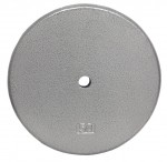 Troy Barbell Usa Sports Gray Standard 1 Inch 50 Lb Plate