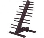 Troy Barbell Vtx 10 Pair Dumbbell Rack - T-Hdr