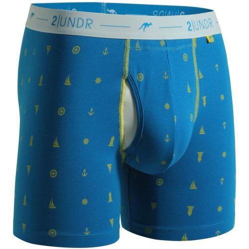 "2UNDR Day Shift 6"" Boxer Briefs Prints: 2UNDR Athletic Apparel"