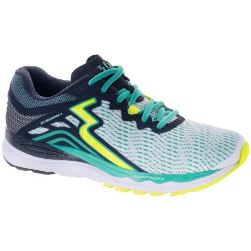 361 Sensation 3: 361 Women's Running Shoes White/Ebony