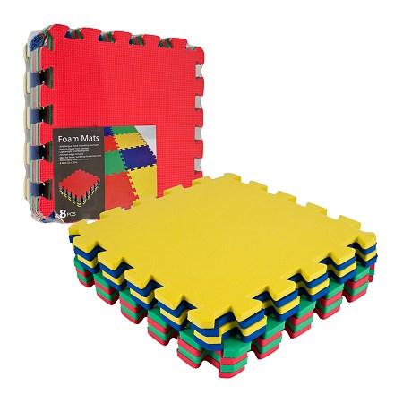 ADG Multi-Color EVA Foam Exercise Mat 8 pc - 1 ea
