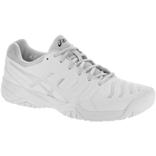 ASICS GEL-Challenger 11: ASICS Men's Tennis Shoes White/Silver