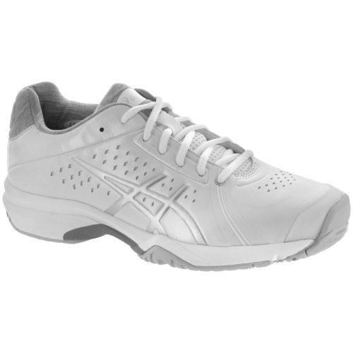 ASICS GEL-Court Bella: ASICS Women's Tennis Shoes White/Silver