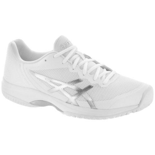 ASICS GEL-Court Speed: ASICS Women's Tennis Shoes White/Silver