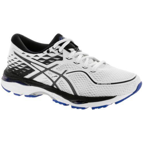 ASICS GEL-Cumulus 19: ASICS Women's Running Shoes White/Black/Blue Purple