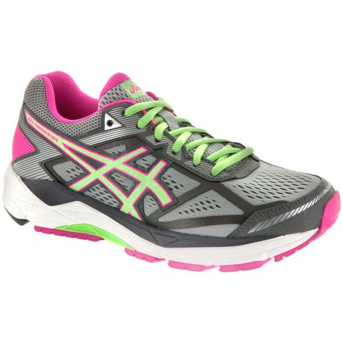 ASICS GEL-Foundation 12: ASICS Women's Running Shoes Silver/Pistachio/Pink Glow