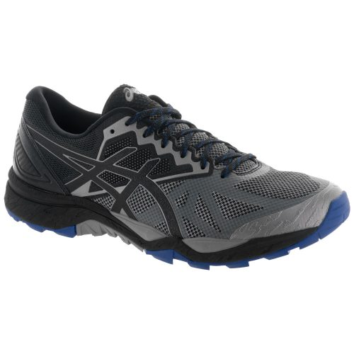 ASICS GEL-Fujitrabuco 6: ASICS Men's Running Shoes Aluminum/Black/Limoges