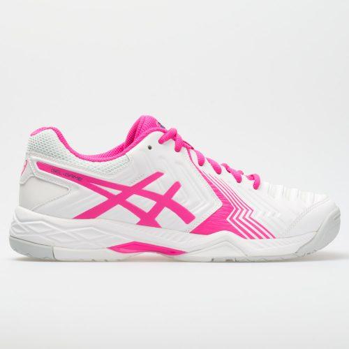 ASICS GEL-Game 6: ASICS Women's Tennis Shoes White/Pink Glo