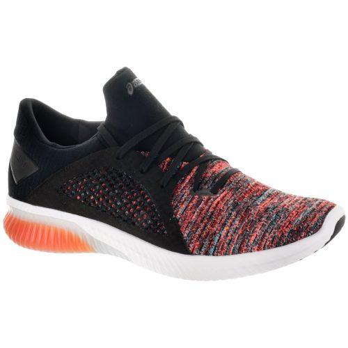 ASICS GEL-Kenun Knit: ASICS Men's Running Shoes Orange/Black/Black