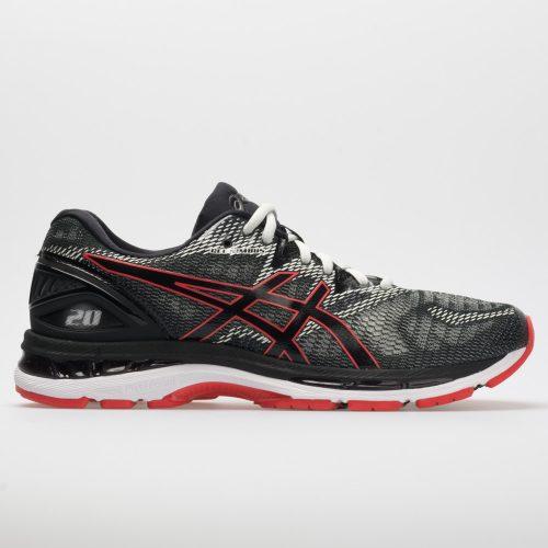 ASICS GEL-Nimbus 20: ASICS Men's Running Shoes Black/Red Alert