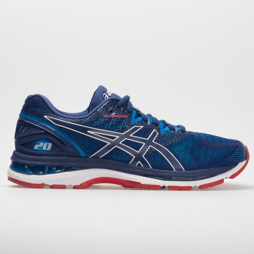 ASICS GEL-Nimbus 20: ASICS Men's Running Shoes Blue Print/Race Blue