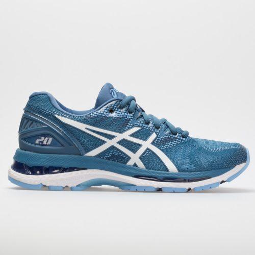 ASICS GEL-Nimbus 20: ASICS Women's Running Shoes Azure/White