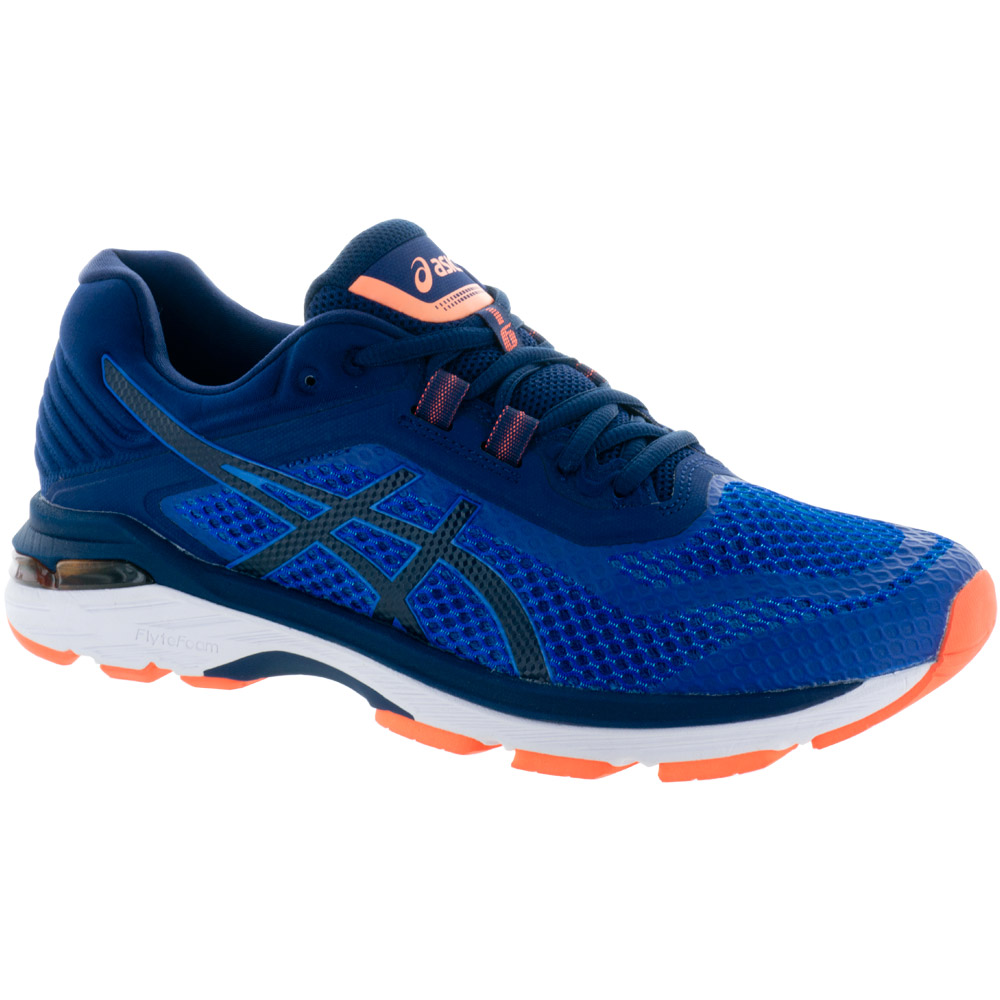 ASICS GT-2000 6: ASICS Men's Running Shoes Imperial/Indigo Blue/Shocking Orange