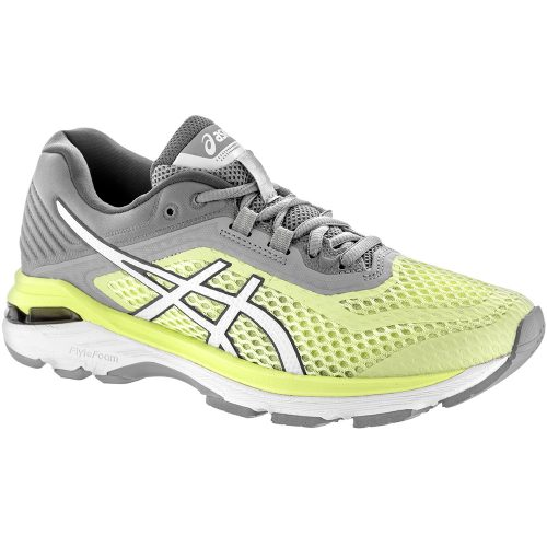 ASICS GT-2000 6: ASICS Women's Running Shoes Limelight/White/Mid Grey