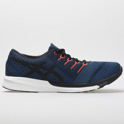 ASICS fuzeX Knit: ASICS Men's Running Shoes Dark Blue/Black/Cherry Tomato