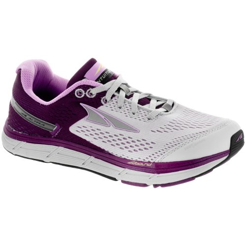 Altra Intuition 4.0: Altra Women's Running Shoes Gray/Purple
