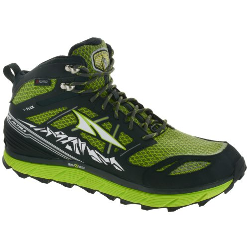 Altra Lone Peak 3.0 Mid Neoshell: Altra Men's Hiking Shoes Lime