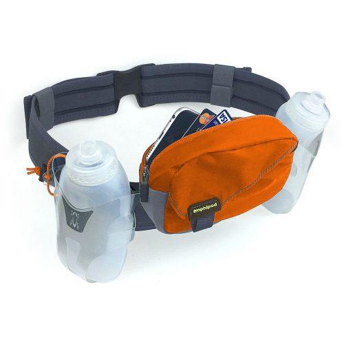 Amphipod Profile-Lite Breeze 21oz Belt: Amphipod Hydration Belts & Water Bottles
