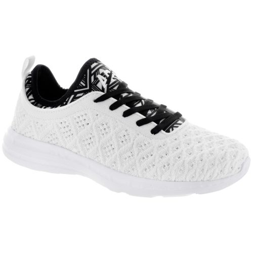 Athletic Propulsion Labs TechLoom Phantom: Athletic Propulsion Labs Women's Running Shoes White/Black/White