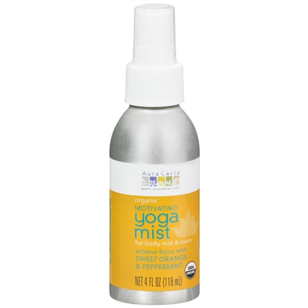 Aura Cacia Yoga Mist Sweet Orange & Peppermint - 4 fl oz