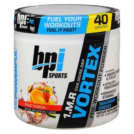 BPI Pre-Workout Powder Fruit Punch - 4.2 oz.