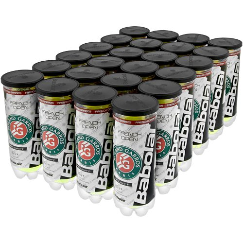 Babolat French Open All Court 24 Cans: Babolat Tennis Balls