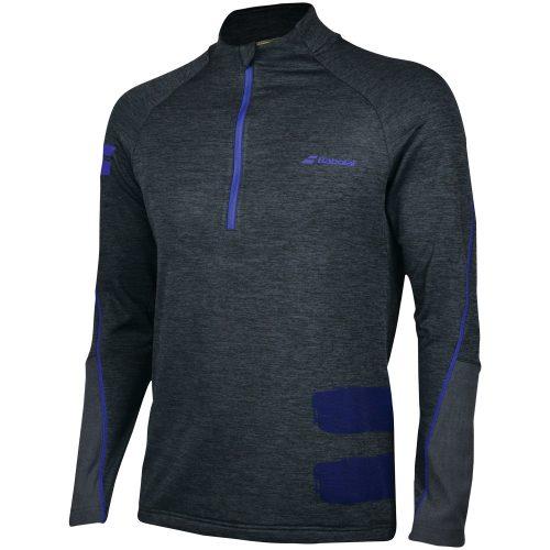 Babolat Performance 1/2 Zip Sweatshirt: Babolat Men's Tennis Apparel