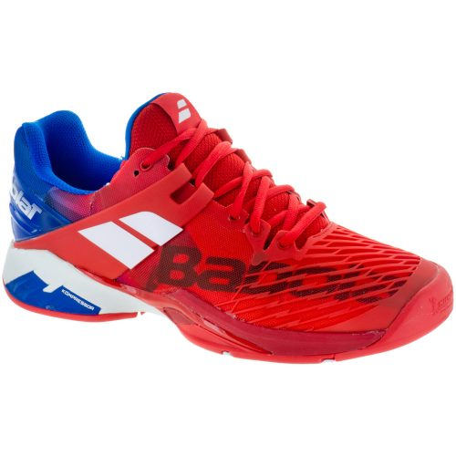 Babolat Propulse Fury: Babolat Men's Tennis Shoes Bright Red/Electric Blue