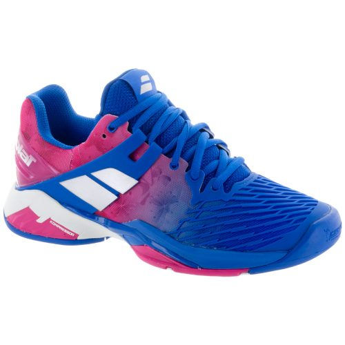 Babolat Propulse Fury: Babolat Women's Tennis Shoes Princess Blue/Fandango Pink