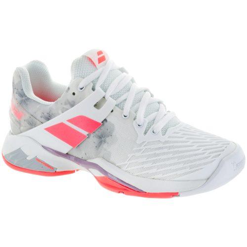 Babolat Propulse Fury: Babolat Women's Tennis Shoes White/Fluo Strike