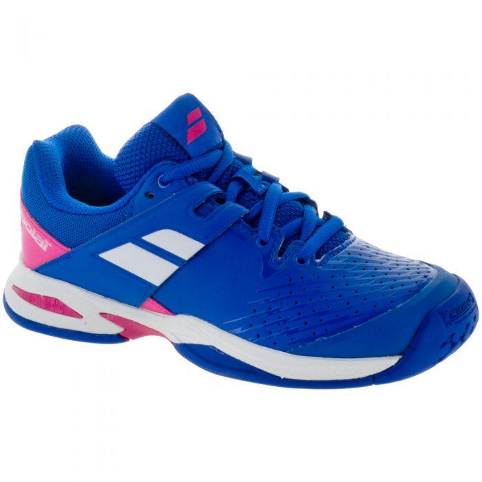 Babolat Propulse Fury Junior Princess Blue/Fandango Pink: Babolat Junior Tennis Shoes