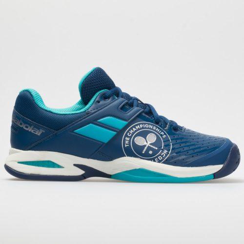 Babolat Propulse Fury Wimbledon Junior Dark Blue: Babolat Junior Tennis Shoes