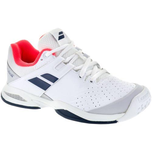 Babolat Propulse Junior White/Blue: Babolat Junior Tennis Shoes