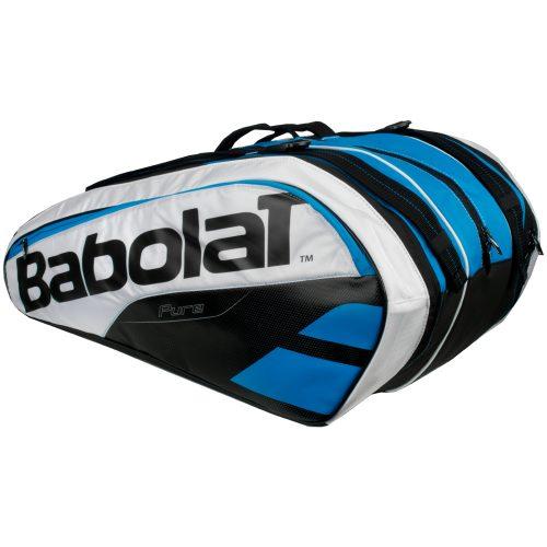 Babolat Pure 12 Racquet Bag Blue/White: Babolat Tennis Bags