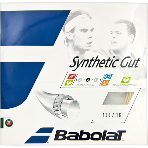 Babolat Synthetic Gut 16: Babolat Tennis String Packages
