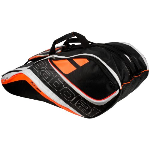Babolat Team Line 12 Racquet Bag Fluo Red: Babolat Tennis Bags