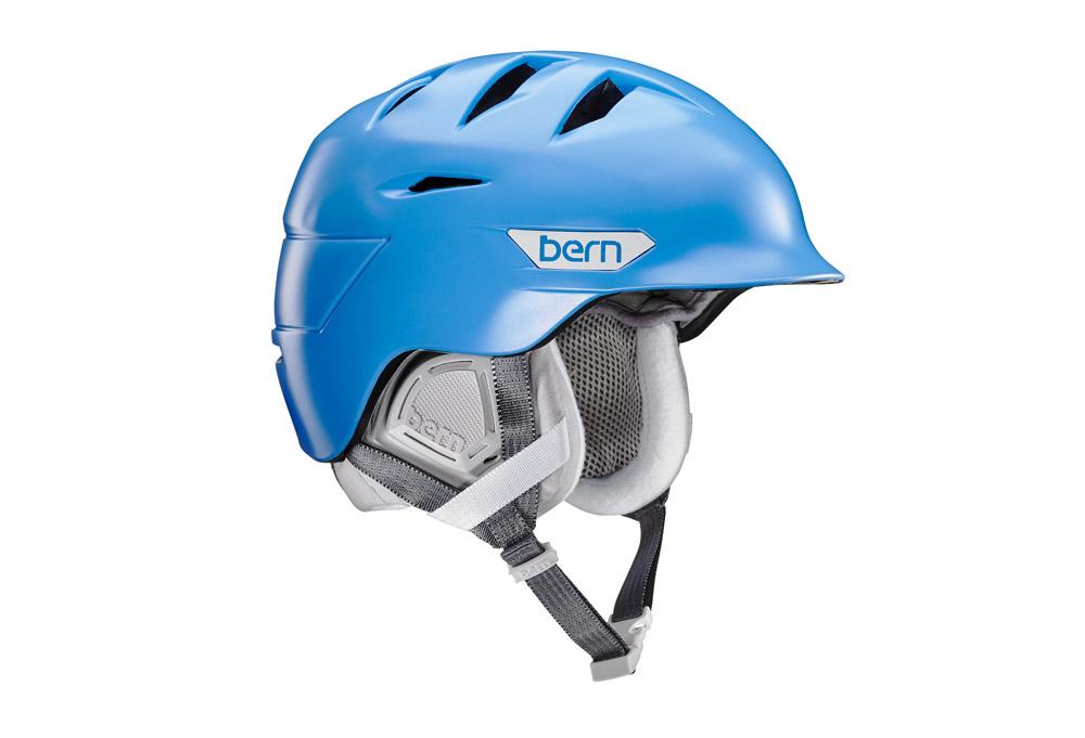 Bern Hepburn Helmet - Women's 2016 - satin bright blue, m/l